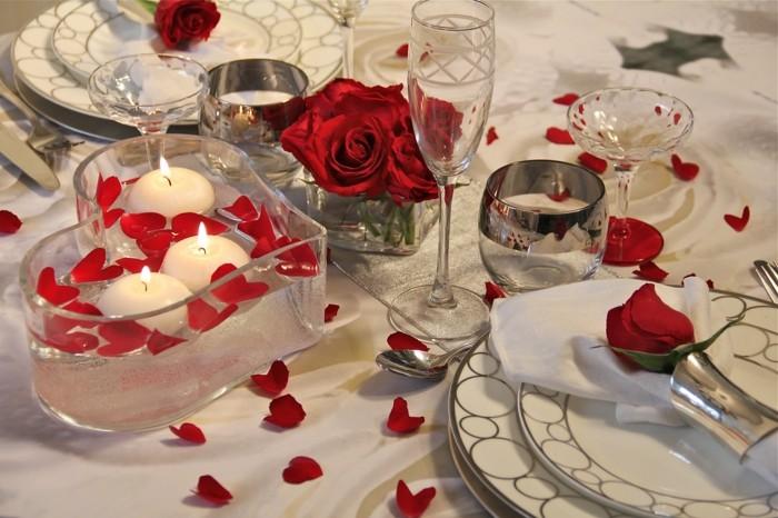 repas romantique facile vendelices. Black Bedroom Furniture Sets. Home Design Ideas