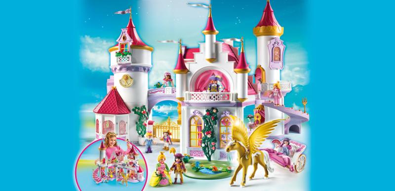 Palais princesse playmobil - Vendelices