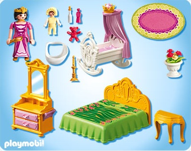 Chambre princesse playmobil - Vendelices