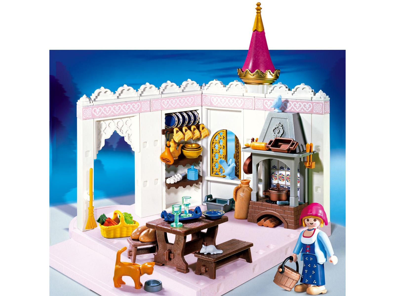 Cuisine du chateau playmobil vendelices for Salle manger playmobil
