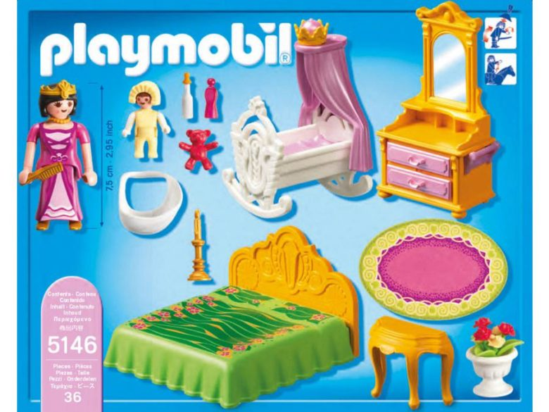Chambre chateau princesse playmobil - Vendelices