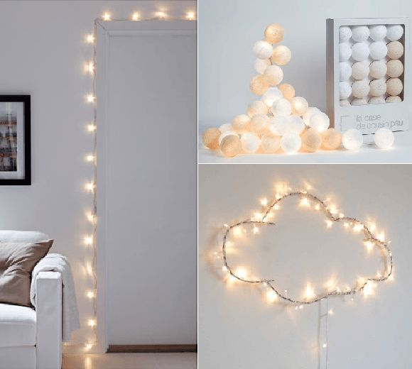 Guirlande lumineuse chambre fille - Vendelices