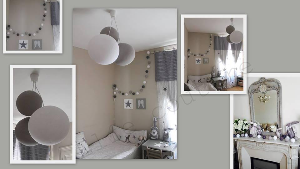 Captivant Guirlande Boule Lumineuse Chambre Bebe