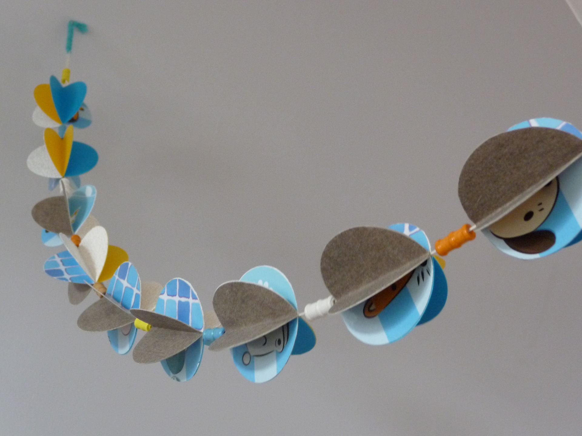 Guirlande boule papier - Vendelices